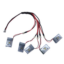High Quality 3.7V 150mAh Li-Polymer Battery +A special line five For JJRC H20 RC Quadcopter Toys Wholesale