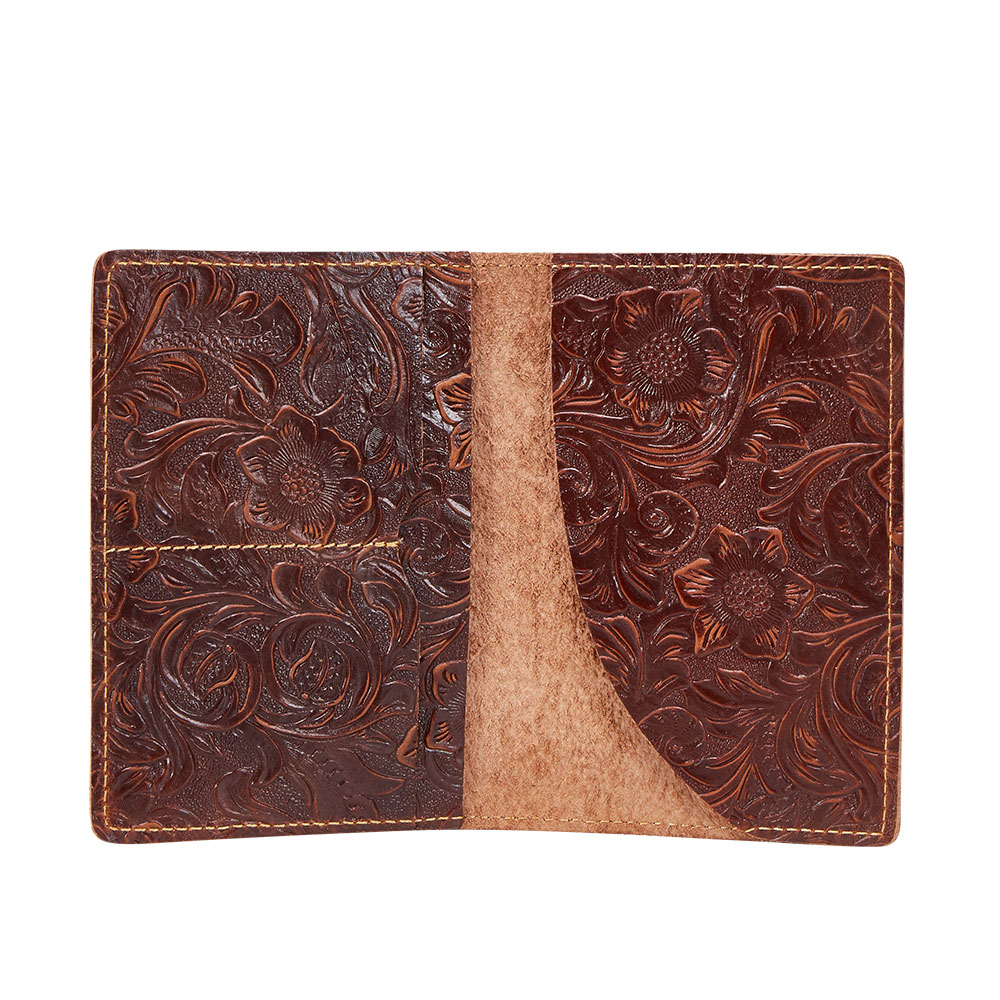 K018-Women Passport Cover Purse-Brown-05(10)088