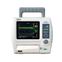 Free shipping single fetal maternal monitor BFM-700 with 5.7» color LCD CTG machine fetal monitor