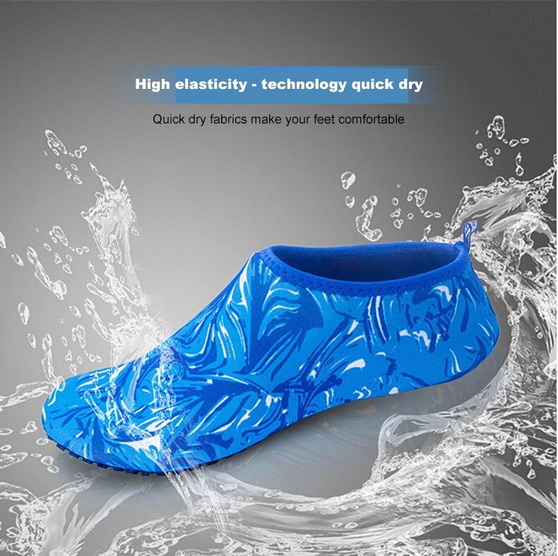 1 (5)Aqua Diving Socks Snorkel Suit Scuba Boot Water Swim Beach Wade Swim Shoes Sneakers Men Women Snorkeling Wading Shoe