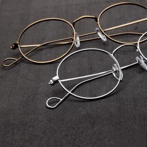 Image 2 - Hand Made John Lennon Vintage Oval Eyeglass Frames Full Rim Men Women Glasses Spectacles Myopia Rx able