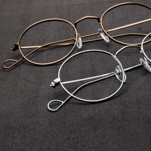 Image 2 - ハンドメイドジョン · レノンヴィンテージ楕円形の眼鏡フレーム男性女性メガネ眼鏡近視rxできる