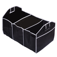 Car Food Storage Container Bags Box Non Woven Organizer Toys Car Styling Car Stowing Tidying Auto