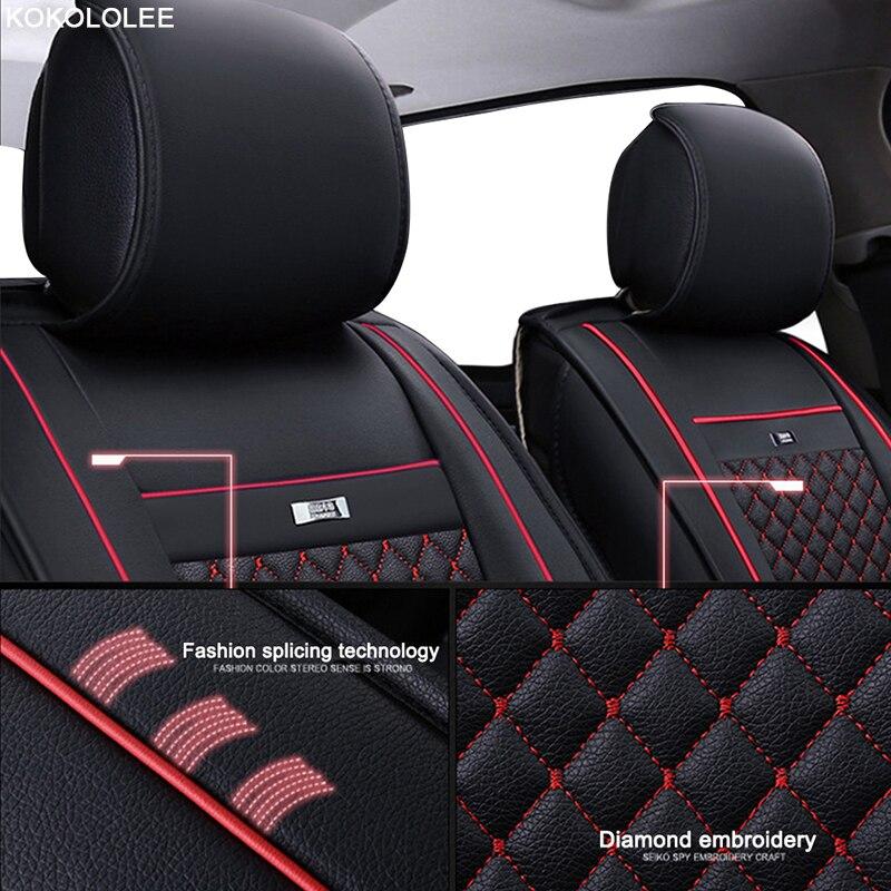 Kokololee Car Seat Covers Set For Lada Granta Renault Logan Peugeot ...