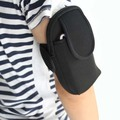 Fashion Men Women Phone Waist Bag SBR CR Arm Bag 2016 New Free Ship