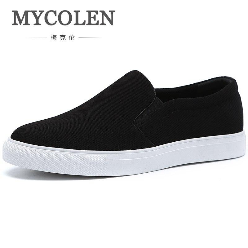 2019 Respirant Léger Liste Printemps La Hommes Noir Mode Chaussures Décontracté De Nouvelle Pour Mycolen Homme Appartements Automne 53RL4qjA