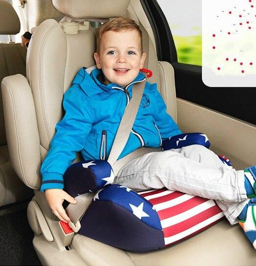 Автокресло безопасность детей увеличение подушка малолитражного автомобиля подушки сиденья ISOFIX жесткий интерфейс