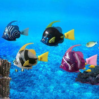 1PCS Robot Electronic Deep Sea Plastic Swimming Fish  2