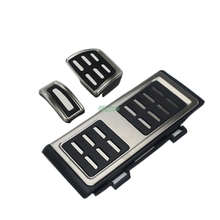 Accessories Non-Drillling Car Foot Fuel Brake Clutch pedals Cover for VW Volkswagen New Tiguan 2017 AT/MT Kit Pedal