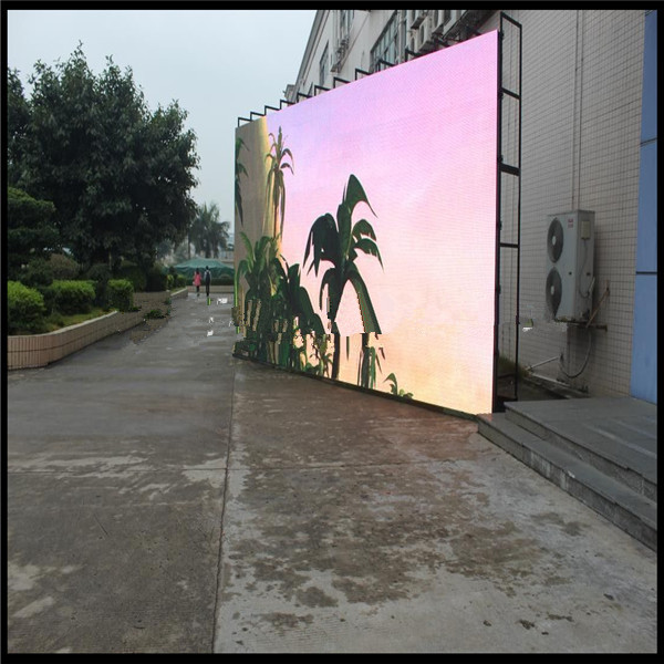Hot sale factory provide P10 full color outdoor rental advertising led display screen diy kit p10 led display advertising outdoor full color module 4 pcs d10 control card 1 pcs jn power supply 1 pcs