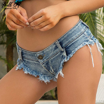 Sexy Super Shorts Jeans Woman befree Hole Calcas ripped jeans for women Summer Beach Nightclub vintage Denim shorts Jean clothes