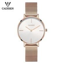 CADISEN NEW Women Watch Luxury Brand Ladies Quartz Watch Women Wristwatch Waterproof Relogio Feminino Montre Femme Reloj Mujer