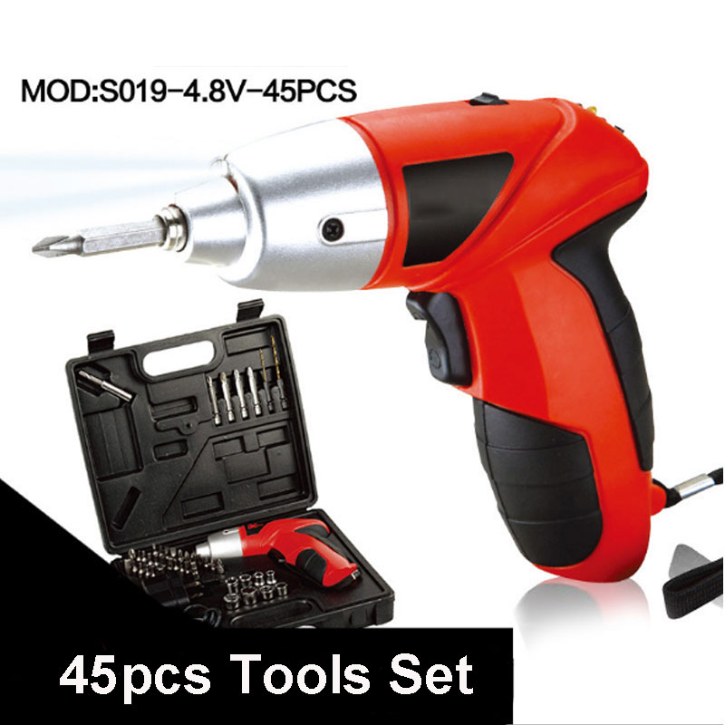 UNeefull Household rechargeable 4.8V Electric Screwdriver Set Hand Drill Electric Screwdriver Set electric drill DIY Power tool woodi журнальный столик бумеранг