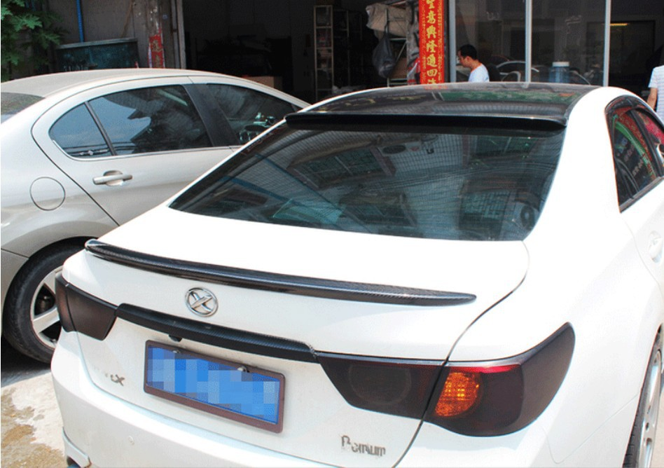 Carbon Fiber Spoiler For TOYOTA REIZ 2010.2011.2012.2013.2014.2015.2016 High Quality Rear Wing Spoilers Trunk Lid Diffuser|rear wing spoiler|carbon fiber spoiler|spoiler for toyota - title=