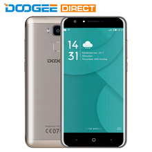 In Stock DOOGEE Y6C 4G Phone Android 6.0 5.5 inch MTK6737 1.3GHz Quad Core 2GB RAM 16GB ROM 13.0MP Back Camera Bluetooth 4.0 GPS