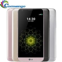 Оригинальный LG G5 4 GB RAM 32 ГБ ROM 5.3 «QHD Ips Snapdragon 820 Четырехъядерных процессоров 16MP Отпечатков Пальцев FDD LTE Smart Сотовый телефон LGG5