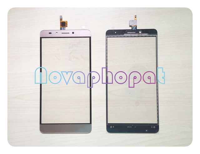Novaphopat Golden Touchscreen For Infinix Note 3 X601 Touch Screen Digitizer Sensor Touch Panel Glass Screen Replacement