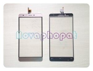 Image 1 - Novaphopat сенсорный экран в золотом цвете для Infinix Note 3 X601 сенсорный экран дигитайзер сенсор сенсорная панель стекло замена экрана