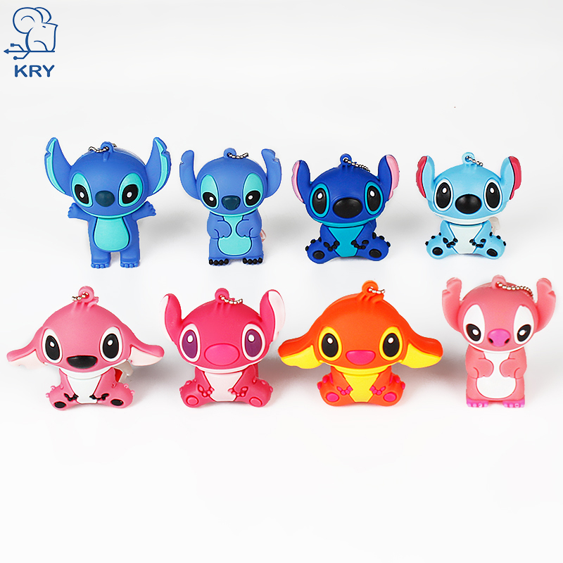 KRY USB Notebook Flash Card Animal Flash Drive usb2.0 4GB 8GB 16GB 32GB 64GB USB Card Memory Cartoon Pendrive Memory Stick