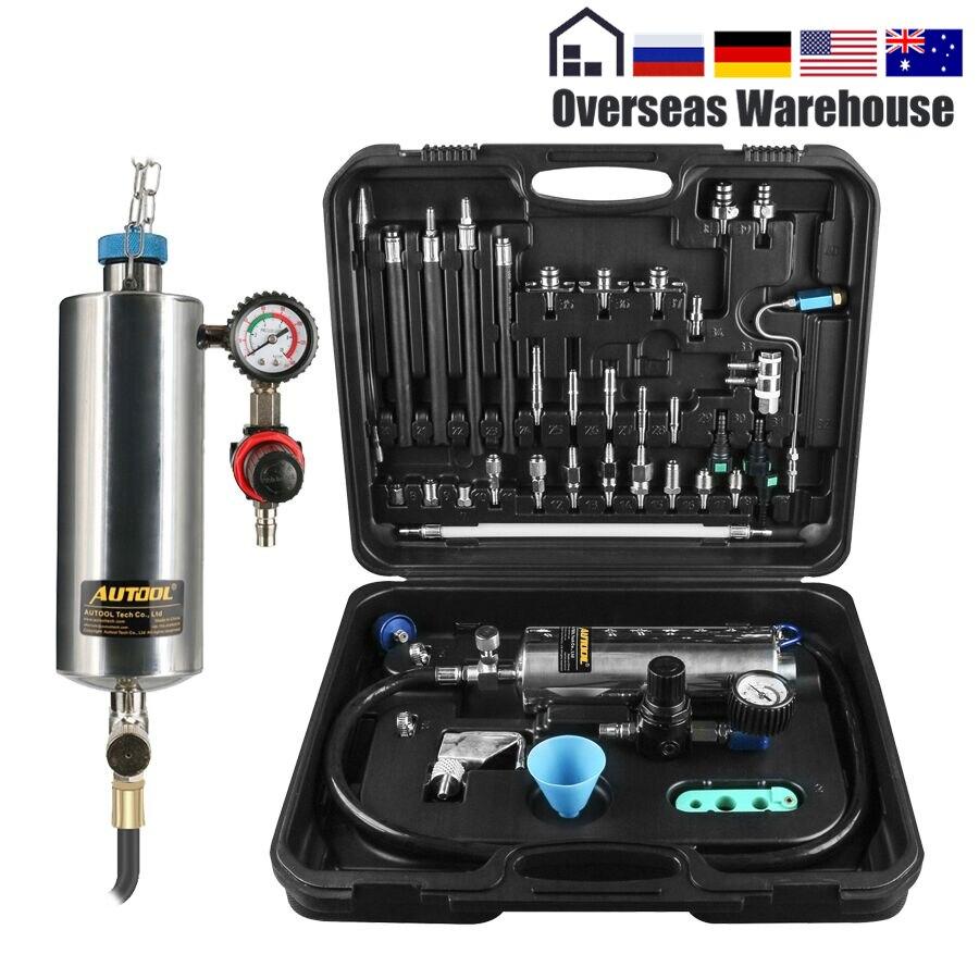 AUTOOL C100 Auto Kraftstoff Injektor Reinigung Maschine Reiniger Tester Universal Nicht Demontieren Werkzeug Auto Motor Benzin Gas Düse