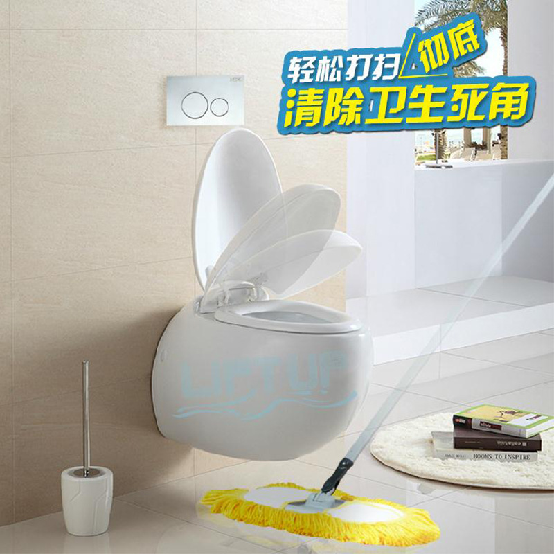 egg shaped toilet seat. Lyot Ohman filter 02 bathroom wall hanging falling egg shaped toilets  hung toilet seat high thickening in Toilets from Home Improvement on