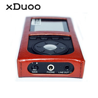 Original XDUOO X10 MP3 Leather Case Music MP3 Player Leather Protective Case Accessories Portable Storage Case