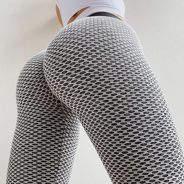 SVOKOR Women Leggings High Waist Dot Fitness leggins mujer High stretch sportswear ladies polyester casual Seamless Pants