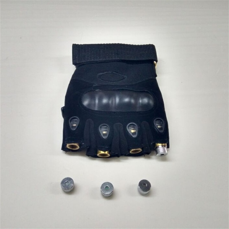 Novi dizajn veleprodajna cijena dj 4pcs zelene laserske rukavice za - Za blagdane i zabave - Foto 4