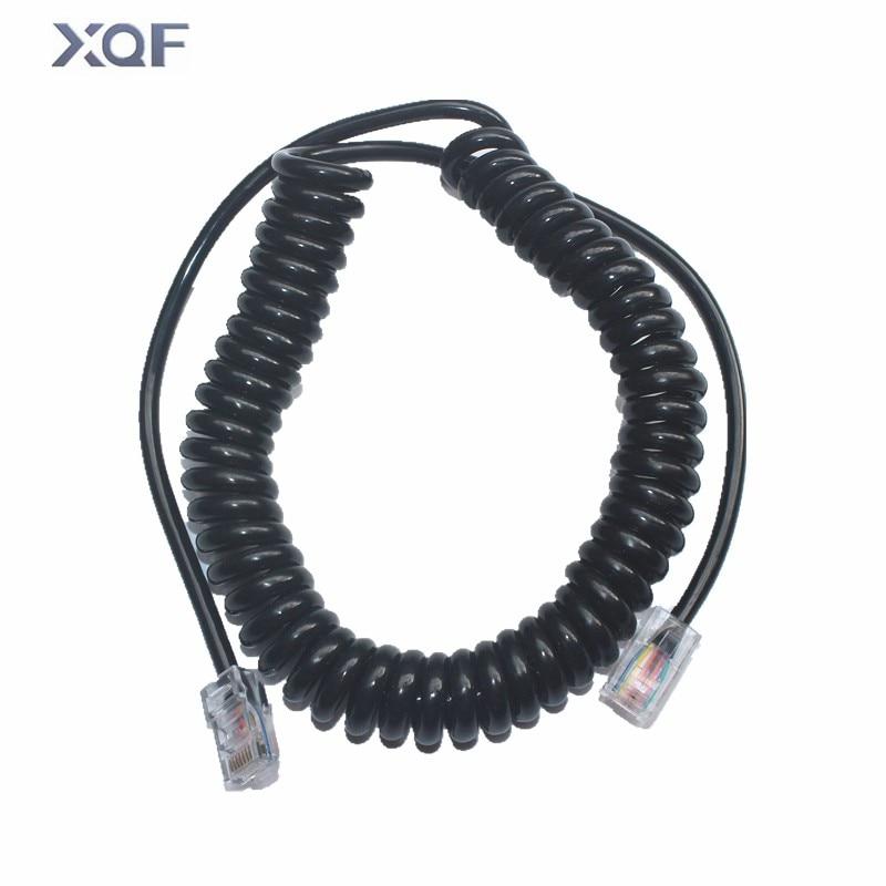 8 pines ICOM OPC-1153 Cable de reemplazo de micrófono para HM-98 / HM98 HM-133V / HM133V