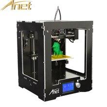 Анет A3 3D принтер Высокая точность impressora 3d точность RepRap Prusa i3 DIY 3D-принтеры комплект Бесплатная 0.5 кг/1 кг нити 16 ГБ sdcard