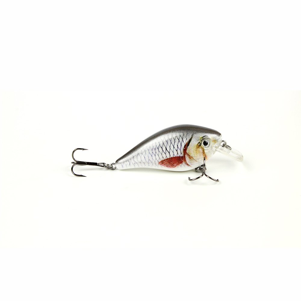 5 Color 7.5cm/12.4g Top Quality Fishing Lure Fishing Tackle Fishing Crank bait Hard Plastic Wobbler Fish Baits Pesca HML04