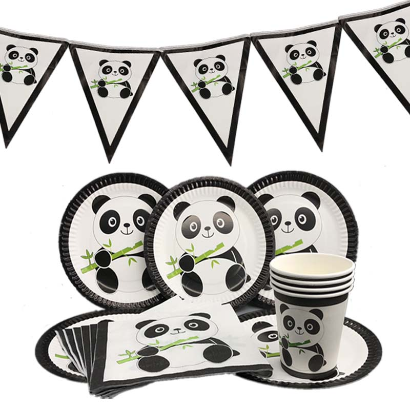 Omilut-Panda-Birthday-Party-Decorations-Baby-Shower-Boy-Panda-Disposable-Plates-Cups-Napkins-Birthday-Party-Kid