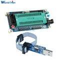 Системная плата diymore AVR ATMEGA16, макетная плата ATmega32 + USB ISP USBasp программатор ISP ATTiny 51, модуль платы diy