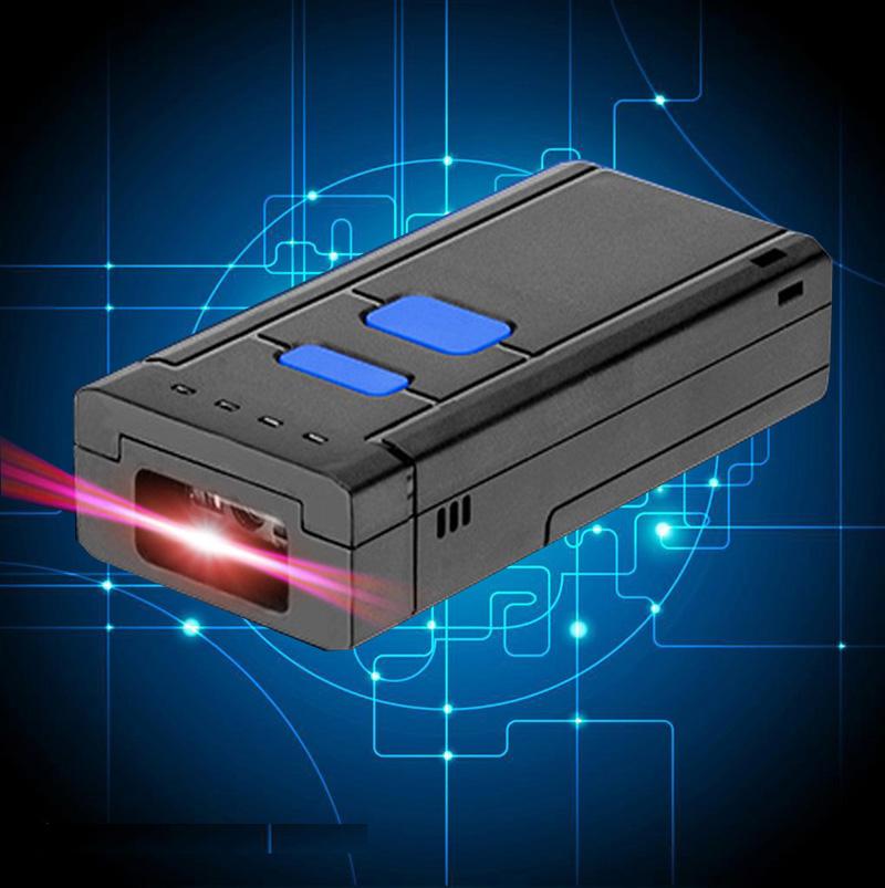 Prix pour Livraison Gratuite! Portable Sans Fil CCD Bluetooth Barcode Scanner pour IOS Android Mobile Téléphone Comprimés Windows PC