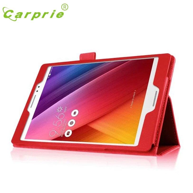 CARPRIE Leather Tablet Case Stand Flip Case Cover Skin For ASUS ZenPad S 8.0 Z580C Z580CA Feb11 MotherLander