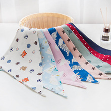 Baby Bibs Cotton Baby Feeding Apron Triangle Cute Baby Bibs Girls Boys Cartoon Feeding Scarf Bib Collar Bib Burp Cloth Feeding baby bibs eva waterproof lunch feeding bibs newborn baby cute cartoon feeding cloth bib children apron kids feeding accessories