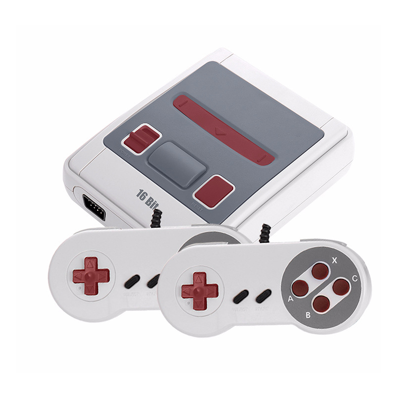 Built-In 167 Classic Game for 16bgames Dual gamepad Mini TV Video Game Console 16Bit Retro Handheld Family Video Game Player