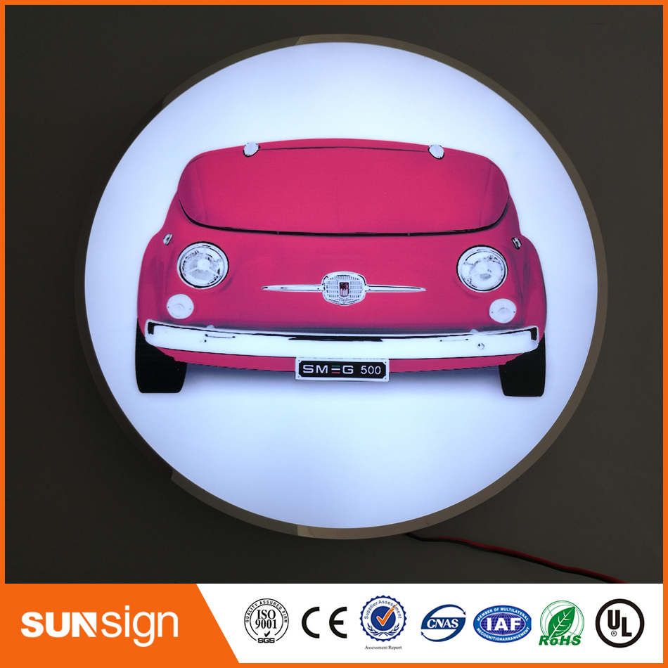 Aliexpress High Quality 3D Outdoor Waterproof Acrylic Led Illuminated Letters Light Box Sign