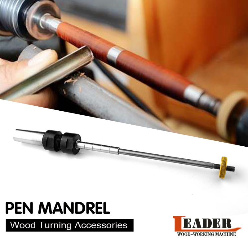 Wood Turning Pen Kits Pen Mandrel MT2(Φ18) Collet  Set  Pen Kit Turning Lathe Woodworking DIY Pen Spindle