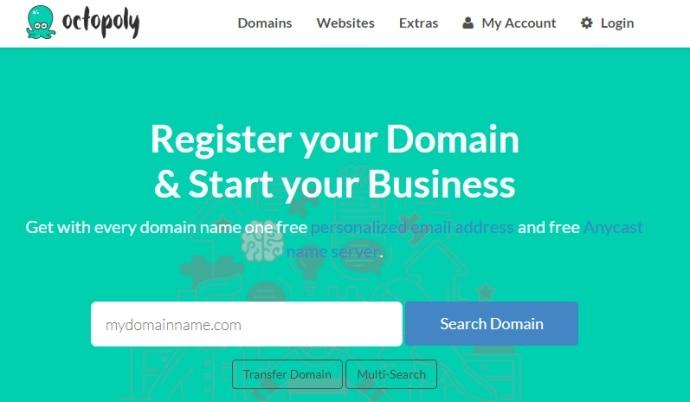 #免费域名#Octopoly提供.kiwi和.buzz后缀域名首年免费