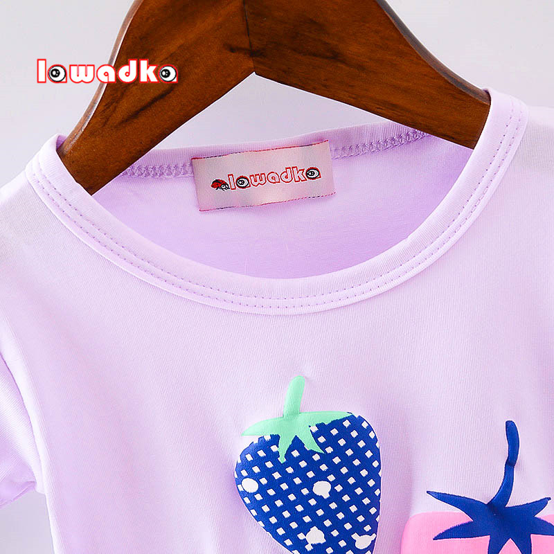 New-Sport-Baby-Girls-Boys-t-shirt-Short-Sleeve-Strawberry-Pattern-t-shirts-for-Girls-Cotton-Children-Clothes-3