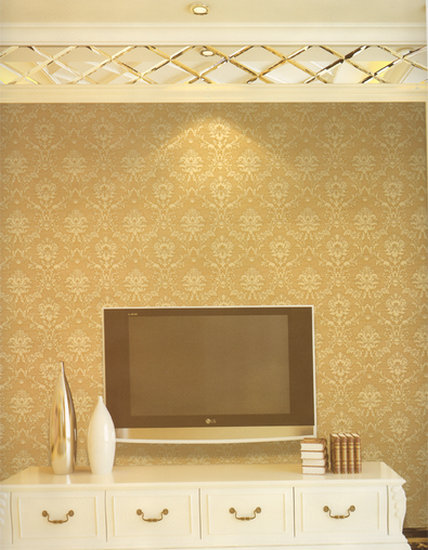 Malaysia classic leather flowers 3D Wallpaper Murals home decor ...