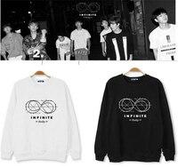 Infinite HOODIE kpop infinite reality men and women kpop bad cases winner mini fifth album clothing long sleeved shirts hoodies