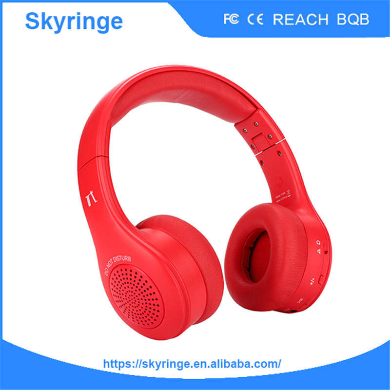 Shenzhen Skyringe T400 Long Distance Made In China Bluetooth Headset Battery-in Earphones