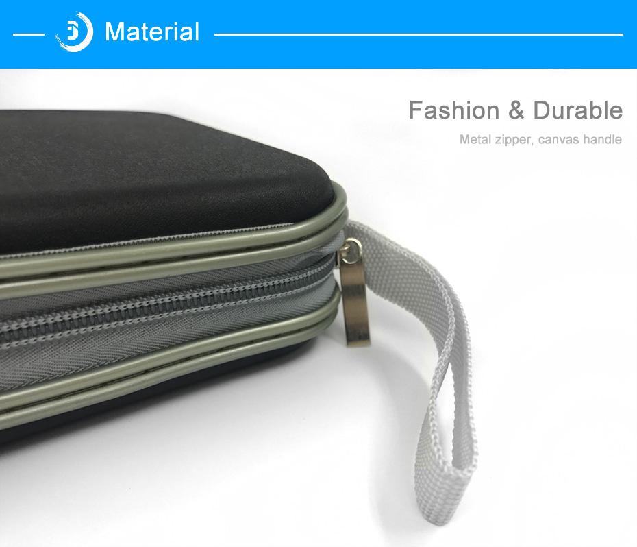 BUBM Durable CD Case 40pcs Discs Portable CD Bag DVD Case Storage Holder DVD Bag Fashion Useful CD Case For Car Bags (10)
