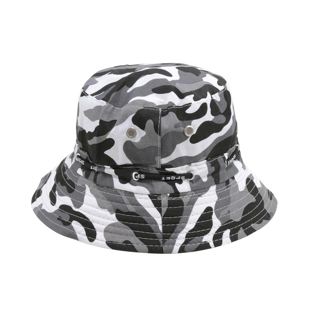 1 Stücke Unisex Einfache Design Baumwolle Winter Warme Hüte Outdoor Angeln Jagd Camping Boonie Fischer Eimer Hüte Mode