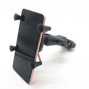 Image 3 - Rail mount 1 นิ้ว headrest รถรถจักรยานยนต์สกูตเตอร์กระจกมองหลัง stem bar mount สำหรับโทรศัพท์มือถือสำหรับ ram mounts