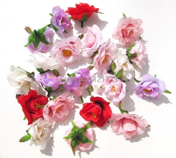 Honey rose roses silk flower simulation flower head fake flowers DIY ...