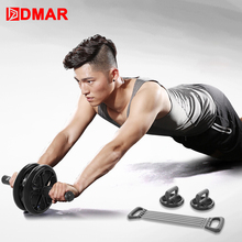 DMAR 3 in 1 Abdominal Wheel Roller Arm Trainer Push Ups Fitness Equipment Gym Home Exercies Ab Roller Belly Core Trainer цена