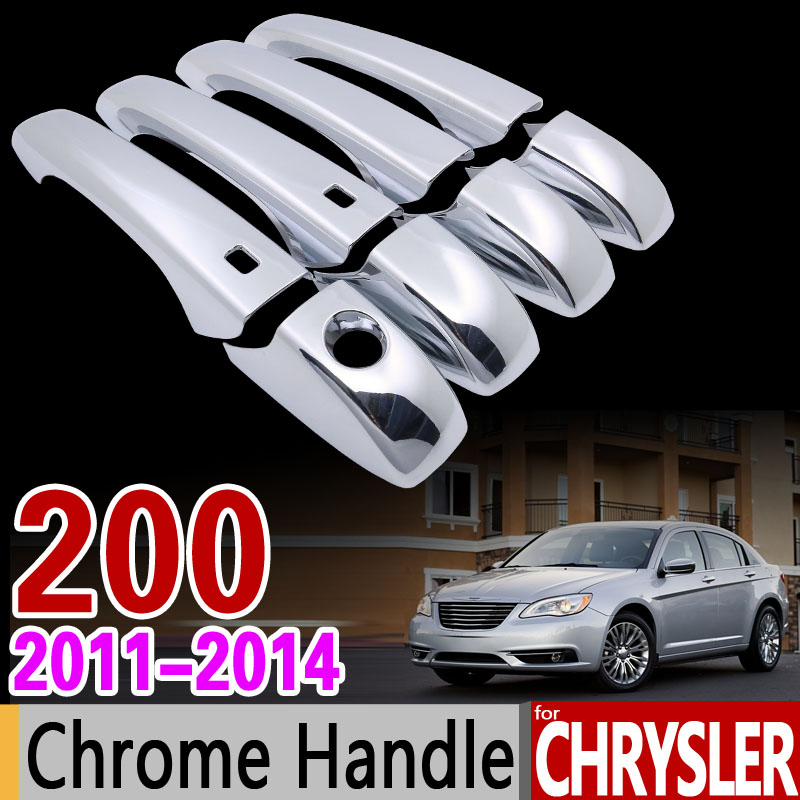 For Chrysler 200 2011 2014 Luxurious Chrome Handle Cover